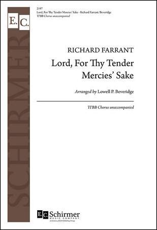 Lord, For Thy Tender Mercies' Sake