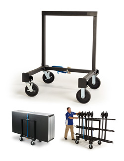 StageTek Universal Deck and Rail Cart