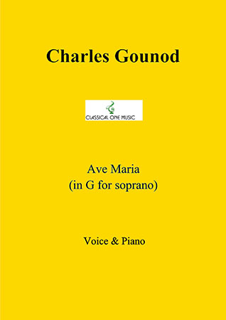 Ave Maria (in G for soprano)