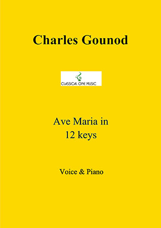 Ave Maria in 12 keys