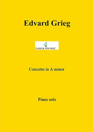 Concerto in A minor for piano and orchestra