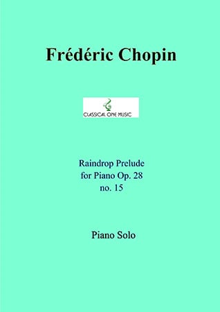 Raindrop Prelude Op. 28, No. 15