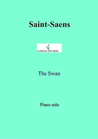 The Swan by Camille Saint-Saens| J W  Pepper Sheet Music