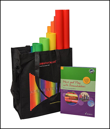 Boomwhackers Move and Play Kit