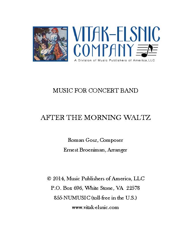 After the Morning Waltz