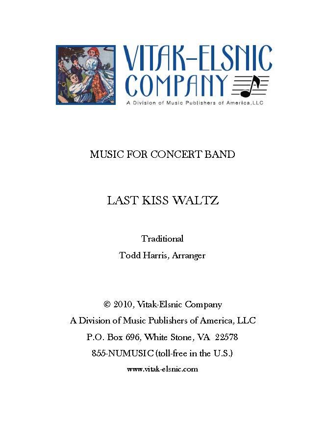 Last Kiss Waltz
