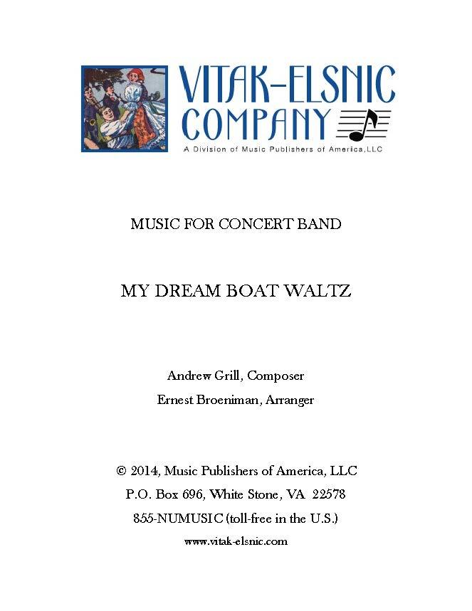 My Dream Boat Waltz