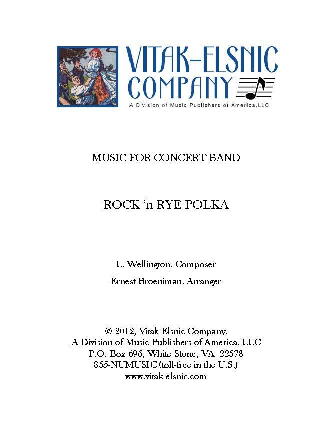 Rock 'n Rye Polka