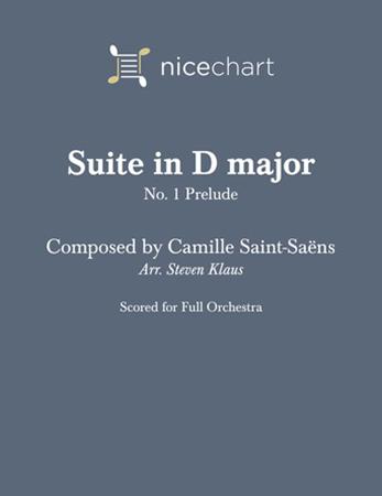 Suite in D major #1, Prelude