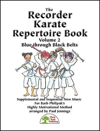 Recorder Karate Repertoire Book 2