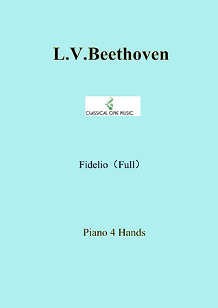 Fidelio (Complete) for piano solo