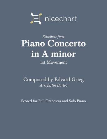 Piano Concerto in A minor, Movement 1