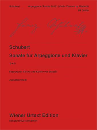 Sonate fur Arpeggione und Klavier, D 821
