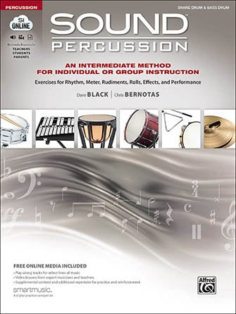 Sound Percussion percussion sheet music cover