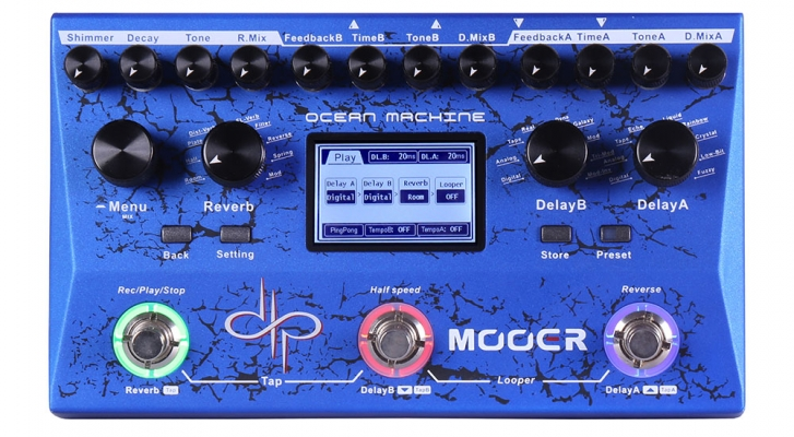 Mooer Ocean Machine Dual Delay and Looper