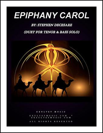 Epiphany Carol (Tenor and Bass Duet)