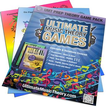 Ultimate Music Theory Game Packs