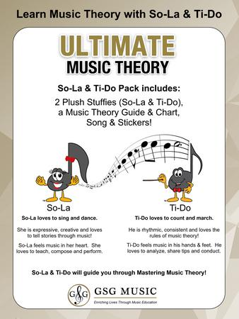 Ultimate Music Theory So-La and Ti-Do Stuffies Pack