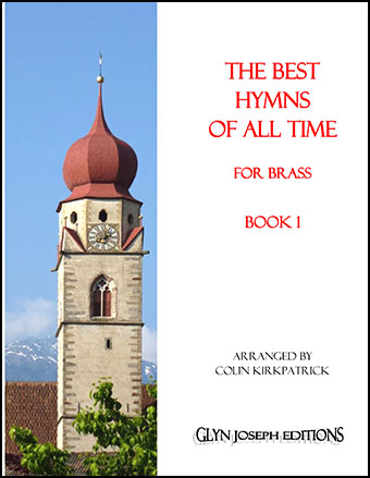 The Best Hymns of all Time for Brass (Book 1) Cover