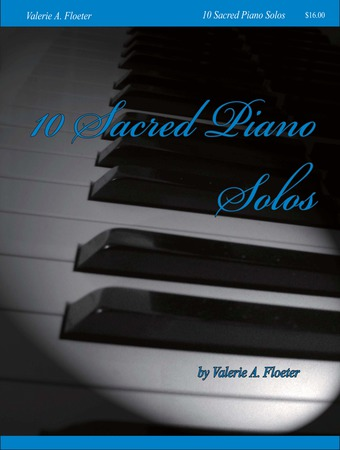 10 Sacred Piano Solos #1