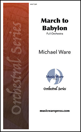 March to Babylon myscore sheet music cover