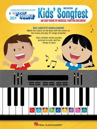 EZ Play Today Vol. 301 Kids Songfest