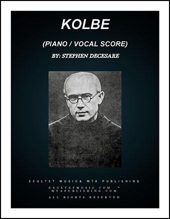 Kolbe (Piano/Vocal Score)