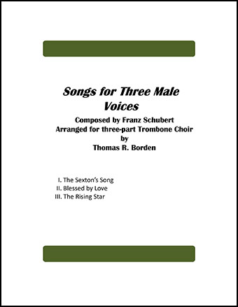 Songs for Three Male Voices