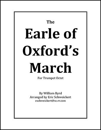 The Earle of Oxford's March