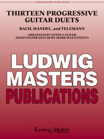 Thirteen Progressive Guitar Duets