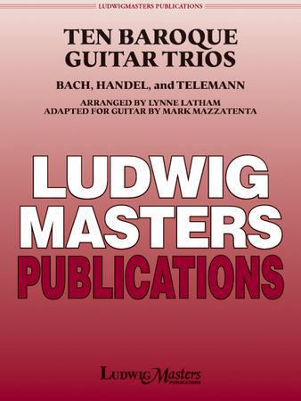 Ten Baroque Guitar Trios