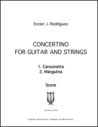 Concertino for Guitar and Strings