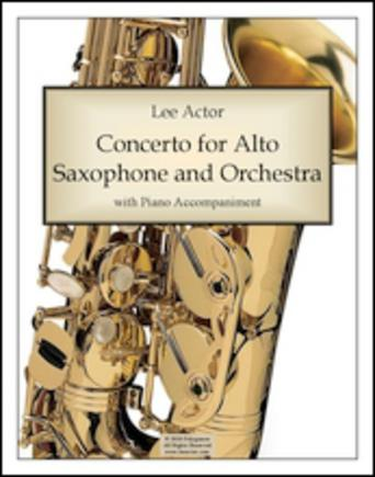 Concerto for Alto Saxophone and Orchestra (2010)