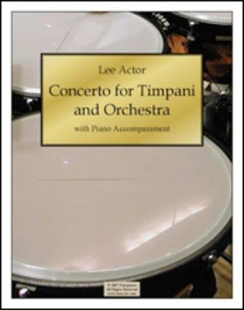Concerto for Timpani and Orchestra (2007)