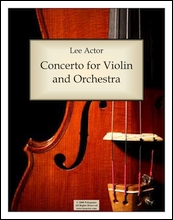 Concerto for Violin and Orchestra (2008)