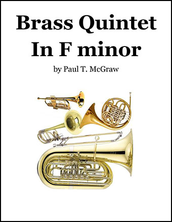 Brass Quintet in F minor