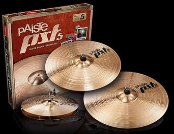 Paiste PST5 Cymbal Sets