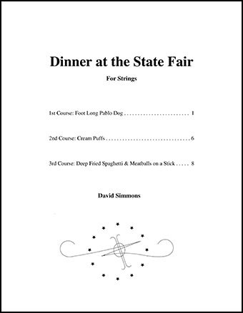 Dinner at the State Fair