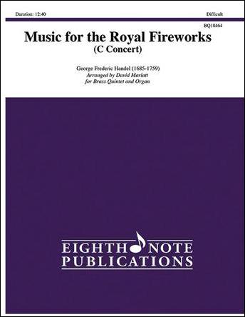 Music for the Royal Fireworks (C Concert)