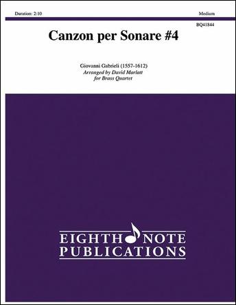 Canzon per Sonare No. 4