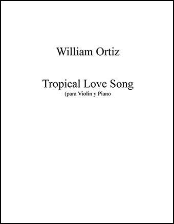 Tropical Love Song