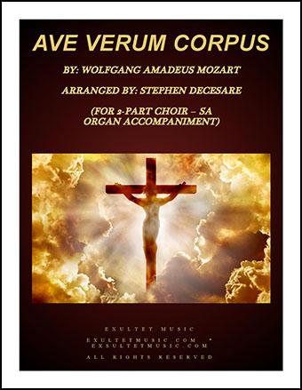 Ave Verum Corpus (SA) Organ Accompaniment