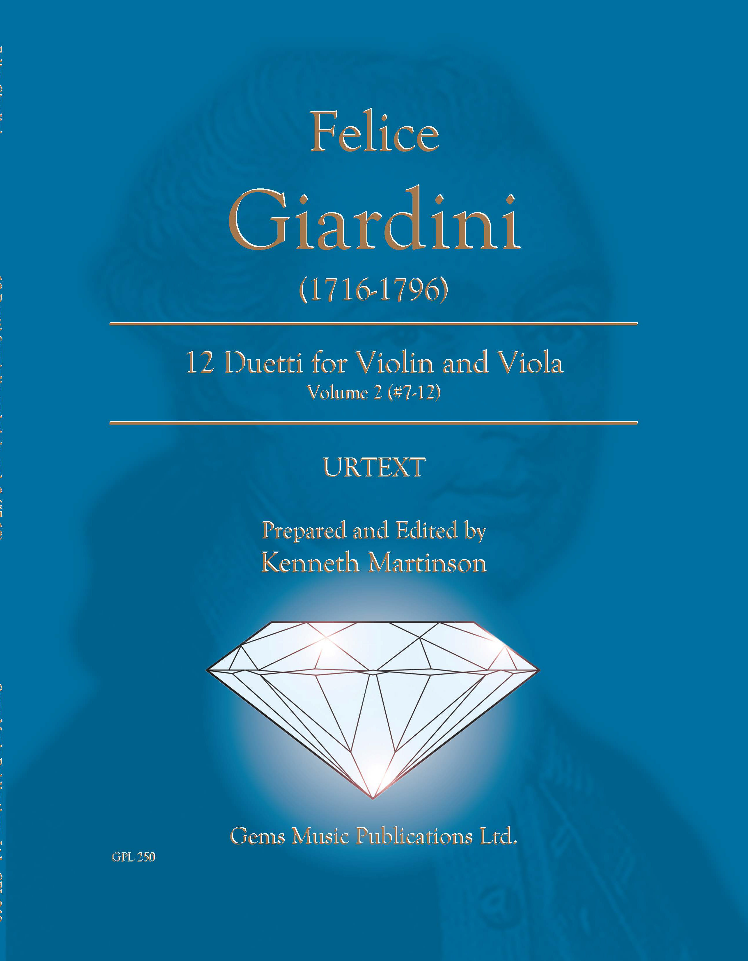 12 Duetti for Violln and Viola, Vol. 2