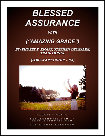 Blessed Assurance/Amazing Grace (SA)