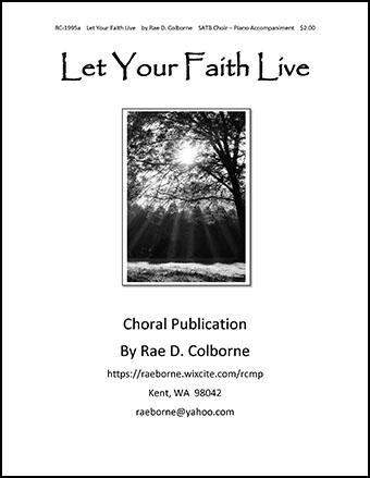 Let Your Faith Live