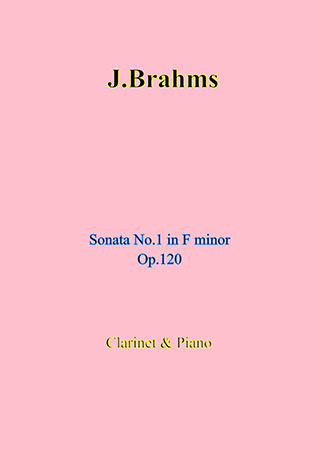 Sonata No. 1 in F minor Op. 120