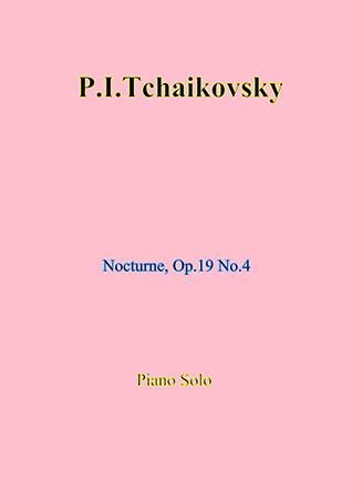 Nocturne, Op. 19 No. 4 (piano solo)