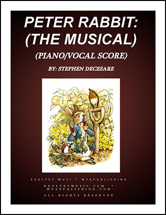 Peter Rabbit: the musical (Piano/Vocal Score)
