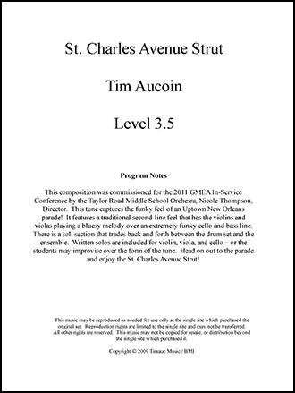 St. Charles Avenue Strut