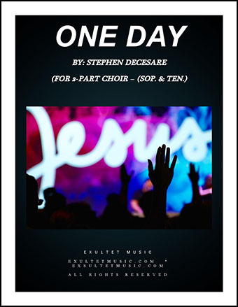 One Day (for 2-part choir)